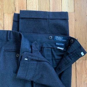 Polo By Ralph Lauren Black Cashmere Pant 36 / 28